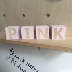 Wooden Letters Building Blocks - Georgie Scott Wooden Building Blocks, Nursery Accessories, Wooden Baby Toys, Childrens Gifts, Learning Letters, Wood Gifts, Mother And Father, Wooden Letters, Baby Gifts
