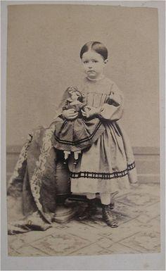 children civil war era fashion Pretty trim on both of their dresses!