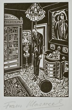 Frans Masereel, woodcut