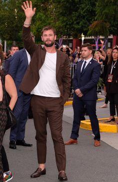 Chris Hemsworth at Thor Ragnarok Australia premiere.