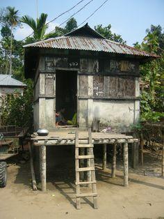 House of Khasia Tribe in Jaflong Sylhet Bangladesh