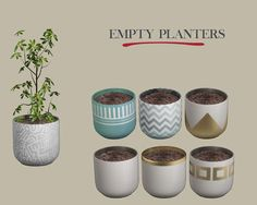 Leo Sims – Empty Planter for The Sims 4 Sims Four, Sims 4 Mm Cc, Free Sims 4, Sims 4 Bedroom, Sims 4 Clutter, Tree Plan, Sims 4 Cc Furniture, The Sims 4 Download, Sims 4 Build