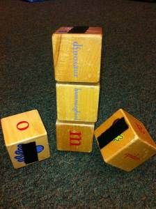 Velcro Blocks -  Pinned by @PediaStaff – Please Visit ht.ly/63sNt for all our pediatric therapy pins