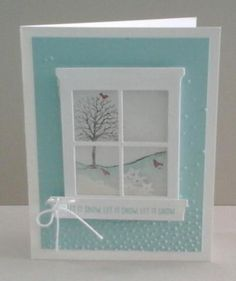 This is one of the cards that we made in class on September 15th. If you would like to make these cards at home visit my website for the supplies. #stampinup