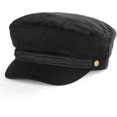 a710d6c701c Women s Apt. 9® Braided Trim Wool Sailor Cadet Hat ( 11) ❤ liked on Polyvore  featuring accessories