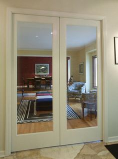 INDOOR HALLWAY 36INCH DOUBLE DOORS WITH GLASS Products