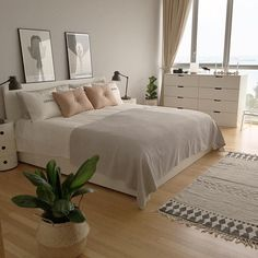 This is a Bedroom Interior Design Ideas. House is a private bedroom and is usually hidden from our guests. However, it is important to her, not only for comfort but also style. Much of our bedroom … Dream Rooms, Dream Bedroom, Home Bedroom, Master Bedroom, Simple Bedroom Decor, Suites, Bedroom Inspo, Bedroom Ideas, Minimalist Bedroom