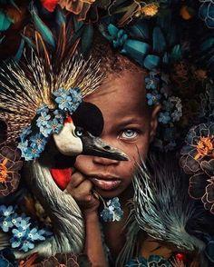 African American Art, African Art, Wow Art, Black Women Art, Black Art, Portrait Art, Pet Portraits, Marcel, Photo Manipulation