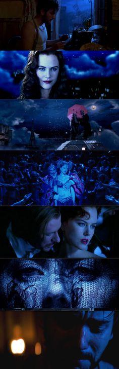 Moulin Rouge / Blues (2001), d. Baz Luhrmann, d.p. Donald McAlpine