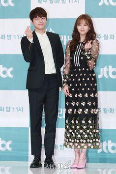 "180521 JTBC ""Miss Hammurabi"" Presscon - #인피니트 Myungsoo"