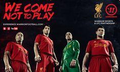Liverpool Football Club and Warrior Sports Partnership