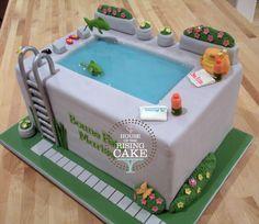 Swimming Pool cake   Flickr - Photo Sharing!