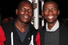 #MandelaMarathon #Ambassadors @AlexMthiyane & @Makhosikhoza1 #Redlands #PMB