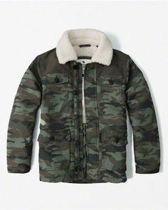 meninos casacos   Abercrombie kids