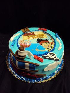 Jake and the Neverland Pirates cake Disney cakes Pinterest