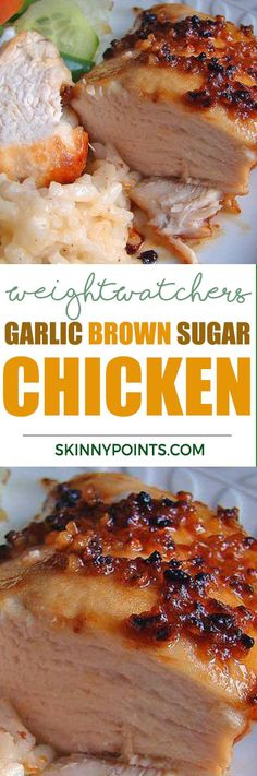 Garlic Brown Sugar Chicken - Only 5 Weight Watchers Smart Points