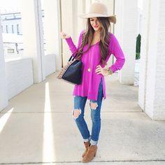 LOVE this purple top