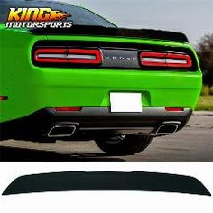 2018Universal No Drilling Rear Tail Empennage Wing Lip Spoiler Trunk For Hyundai