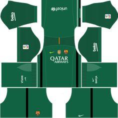 kit-barcelona-dls16-uniforme-goleiro-fora-de-casa Barcelona Fc, Soccer League, Soccer Kits, Projects To Try, Gabriel, Football Kits, Football Jerseys, Block Prints, Home