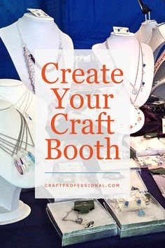 The Craft Business Newsletter - Do you really need to buy a craft tent? http://www.craftprofessional.com/necklace-display-stands.html