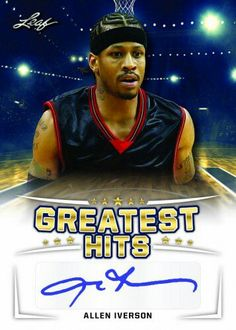 Allen Iverson, Basketball Cards, Greatest Hits, Trading Cards, Baseball, Sports, Baseball Promposals, Hs Sports, Sport