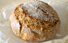Ψωμί με ζύμωμα ή χωρίς ζύμωμα και με ελάχιστη μαγιά - cretangastronomy.gr Muffins, Snacks, Cookies, Cake, Breads, Recipes, Food, Crack Crackers, Bread Rolls
