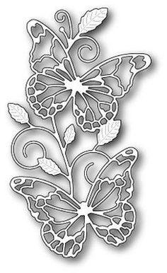 Memory Box Waltzing Butterflies craft die NEW 2015