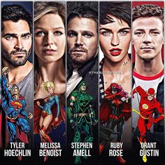 Are you guys excited for Batwoman on the CW? Math Comics, Justice League Comics, Dc Comics Superheroes, Batwoman, Vibe Comics, Crossover, Flash Tv Series, Flash Wallpaper, Superhero Shows
