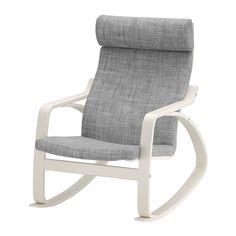 POÄNG Keinutuoli IKEA Helppo pitää puhtaana kemiallisesti pestävän irtopäällisen…