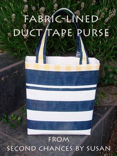 Step-by-step tutorial shows you how to make a fabric-lined duct tape purse. All music in this video is original and provided, and owned, by my sons. You can ...