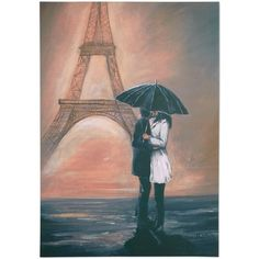 Graham & Brown Kissing in Paris Wall Art (€67) ❤ liked on Polyvore featuring home, home decor, wall art, backgrounds, art, pictures, no color, eiffel tower home decor, eiffel tower picture and graham & brown