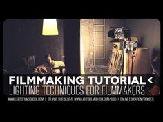 Videography, filmmaking & lighting tutorials on our blog at www.lightsfilmsch...    Lighting for video is as much art as it is science. This video tutorial outlines how  \