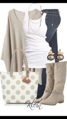 Cute poncho. Love the look. Not the purse