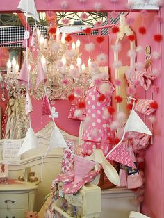 Pink booth by she.likes.cute, via Flickr