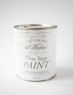 One step furniture paint. No stripping, no sanding, no priming. Transform your furniture or cabinetry in one step with Amy Howard Chalk Based Paint