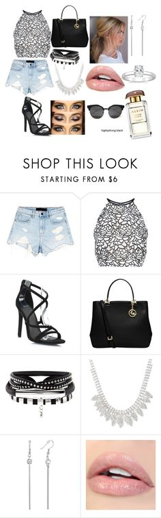 """""""Sumer timeee<3"""" by tea-love ❤ liked on Polyvore featuring Alexander Wang, Keepsake the Label and MICHAEL Michael Kors"""