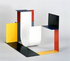 Sculptor Katarzyna Kobro based many of her works on a modular system that, if expanded, she…