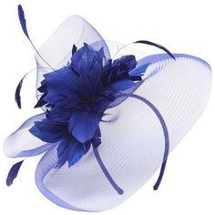 Dorothy Perkins Cobalt Flower Fascinator