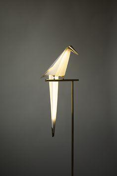 Perch Light - Umut Yamac - Bird / Parrot floor lamp