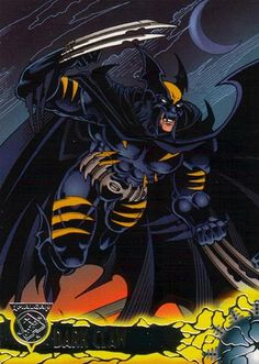 In 1996, DC and Marvel teamed up to do a superhero fusion series. The resulting product was Dark Claw, a merging of Wolverine and Batman.