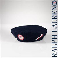 In the spirit of the Olypmics, capture the hope and aspiration inherent in the opening ceremony with this beret from Ralph Lauren!