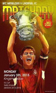 Matchday,  AFC Wimbledon vs Liverpool