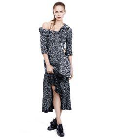 "Natasha Poly in ""Grey"" for Harper's Bazaar US, September 2014 Photographed by: Daniel Jackson Daniel Jackson, Natasha Poly, Celine, Fashion Shoot, Editorial Fashion, Fashion Trends, Grey Fashion, Autumn Fashion, Rocker Fashion"