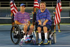 David Wagner and Nick Taylor are the 2014 US Open Wheelchair Quad Doubles champions, earning them each their sixth US Open doubles title!