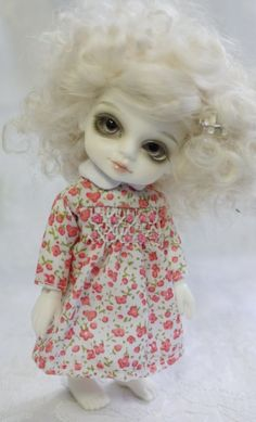 Thistledown - an ADORABLE Puki-sized indie BJD. I want one. Wonder if I could get a hold of the light tan one...