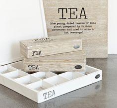 a cool tea box or chest