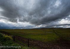 Thunderstorm Over Sierra Foothills by Robin Black