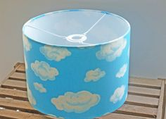 Cloud Ceiling Shade 30cm Drum Light Shade by WhileLokiDreams, £32.00