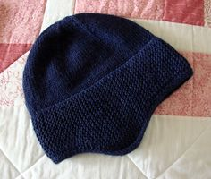 Ravelry  Project Gallery for 1898 Hat pattern by Kristine Byrnes Garter  Stitch e0c7dcdc032