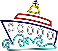 free cruise ship clip art image clip art illustration of a cruise rh pinterest com free clipart of carnival cruise ship cruise ship clip art free download